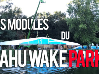 Les modules du dahu wake park