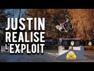 Justin tête en bas Graeme